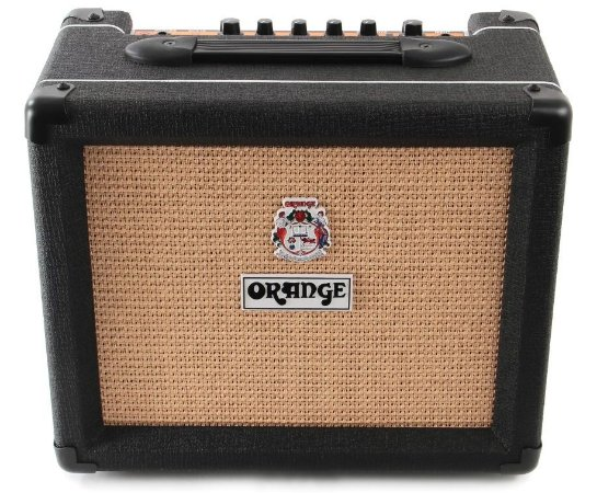 Caixa Amplificada Orange Crush CR20 20W 1x8 Black para Guitarra
