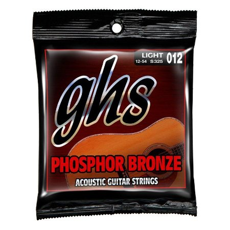 Encordoamento GHS S325 Phosphor Bronze 012 /.054 para Violão