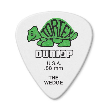 Palheta Dunlop 424P Tortex Wedge 80mm