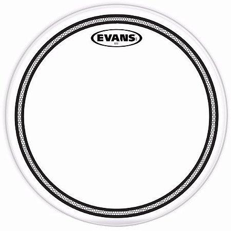 """Pele Evans 16"""" TT16EC2S Transparente para Tom"""