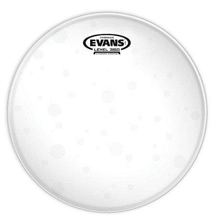 """Pele Evans 12"""" TT12HG Hidráulica Glass Transparente para Tom"""