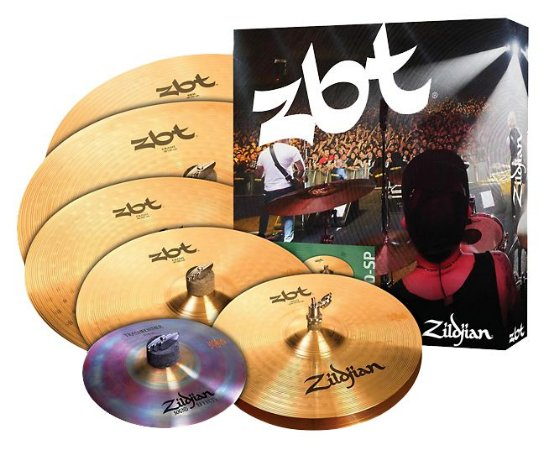 Kit de Pratos Zildjian ZBT 390 Super Pack ZBTP390 14HH+14,16,18CR+20RIDE + 10SP