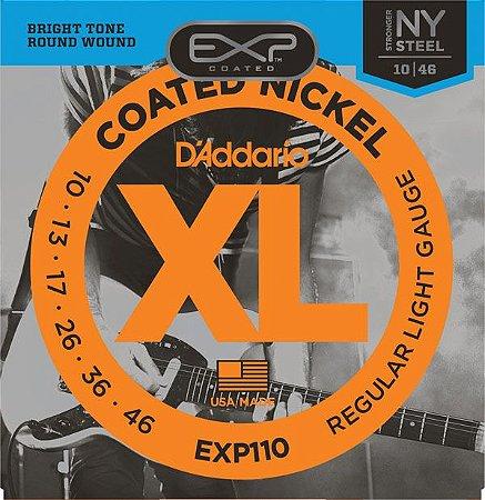 Encordoamento D'addario EXP110 6 Cordas .10/.46. para Guitarra