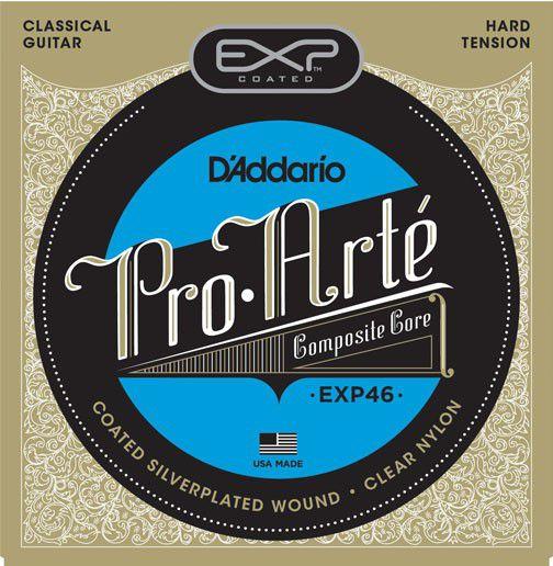 Encordoamento D'addario EXP46 Pro Arte nylon 0285-046 para Violão