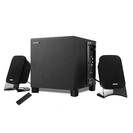 Caixa Multimídia 2.1 Edifier XM2BT 21W RMS com Bluetooth/USB/SD Preto