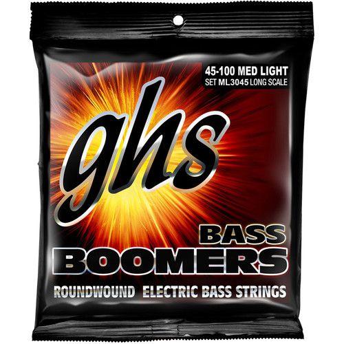 Encordoamento GHS ML3045 Bass Boomers .045 /.100 para Contrabaixo