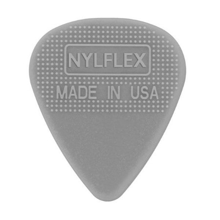 Palheta D'addario 1NFX2-25 Nylflex Light Gauge 0,50mm Cinza