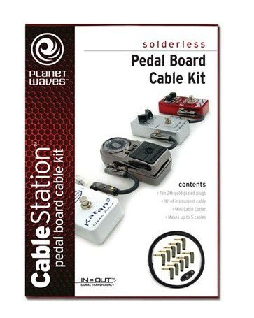 Kit de Cabos D'addario Planet Waves PW-GPKIT-10 Cable Station 3.05m
