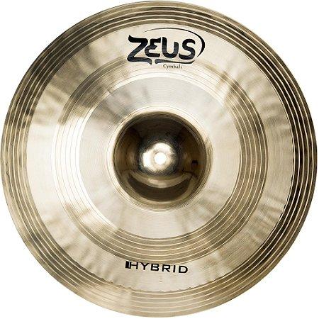 "Prato Zeus Cymbals Hybrid ZHHH14 14"" Hi-Hats"