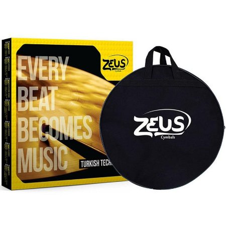 "Kit de Pratos Zeus Cymbals SET E Custom Series 10""/14""/16""/18""/20"""