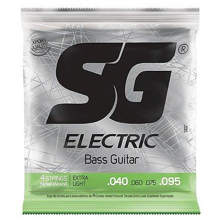 Encordoamento SG Strings .040/.095 Tensão Extra Leve para Contrabaixo