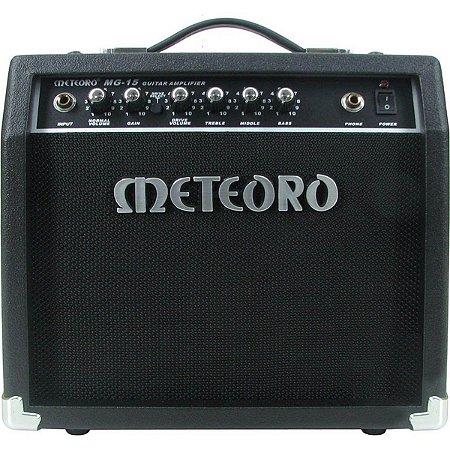 """Amplificador Meteoro MG15R Reverb 1X6"""" 15w para Guitarra"""