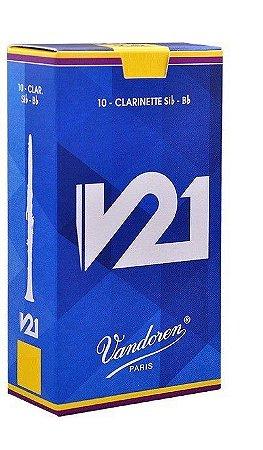 Palheta Vandoren V21 Nº 3 para Clarinete