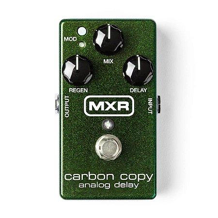 Pedal de Efeitos Dunlop MXR M169 Carbon Copy Analog Delay
