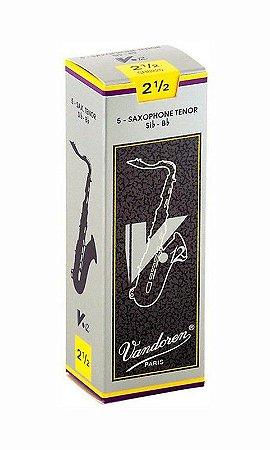 Palheta Vandoren V12 Nº 2,5 para Sax Tenor