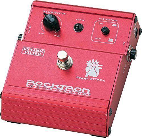 Pedal de Efeito Rocktron Heart Attack Dynamic Filter para Guitarra