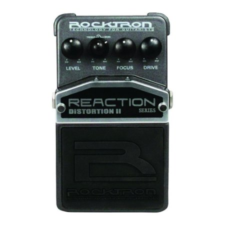 Pedal de Efeitos Rocktron Reaction Distortion II para Guitarra