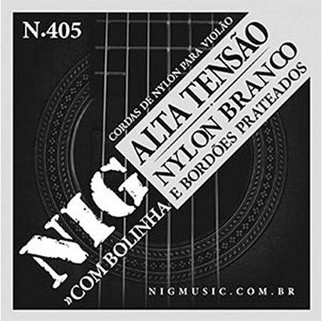 "Encordoamento Nig N-405 .0295""/.044"" para Violão Nylon"