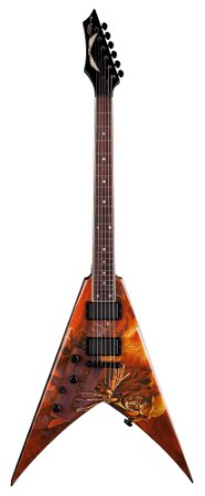Guitarra Dean Guitars VMNT PS Lefty V Dave Mustaine Peace Sells