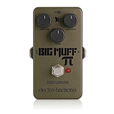 Pedal de Efeitos Electro-Harmonix Green Russian Big Muff Distortion