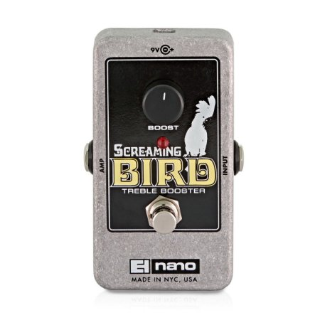 Pedal de Efeitos Electro-Harmonix Screaming Bird Treble Booster
