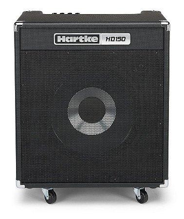 """Amplificador Hartke HD150 HyDrive 1x15"""" 150W para Contrabaixo"""