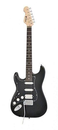 Guitarra Elétrica Phx ST-H BK LH Strato Power HSS Left Black