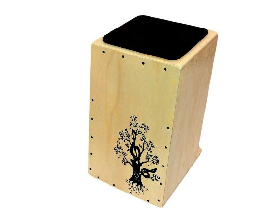 Cajon Inclinado Real Line Up Florescer Elétrico Natural
