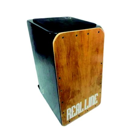 Cajon Inclinado Real Line Turbo Acústico Imbuia