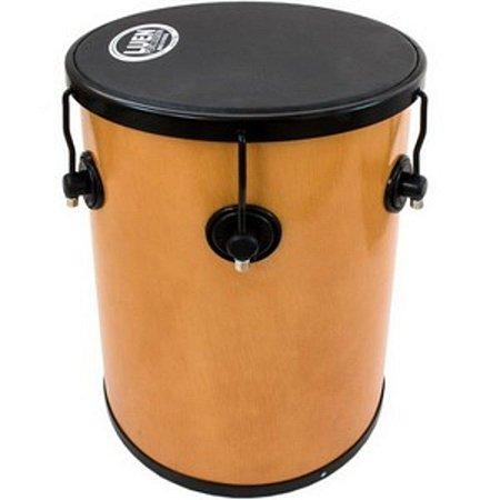 """Rebolo Luen Percussion 45x12"""" Cromadas Pop Preto com 6 Afinações"""