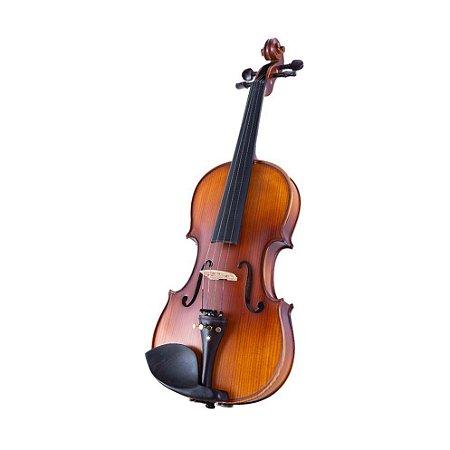 Violino Acústico Marquês VIN127 4/4 Macico Top com Estojo