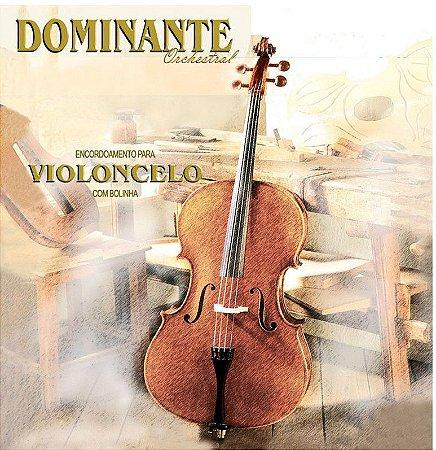 Encordoamento Dominante Orchestral para Violoncelo