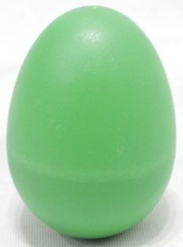 Maraca Ovinho Spanking Plástico Verde
