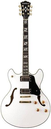 Guitarra Semi-Acústica Washburn HB35 White