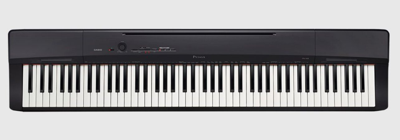 Piano Digital Casio Privia PX-160 Preto 88 Teclas