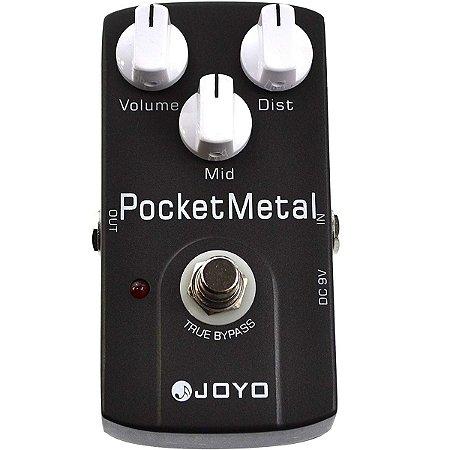 Pedal de Efeito JOYO JF-35 Pocket Metal para Guitarra