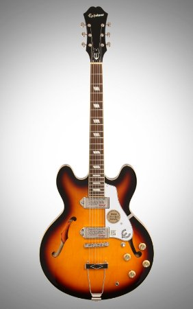 Guitarra Semi-Acústica Epiphone Casino Vintage Sunburst
