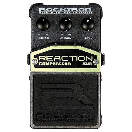 Pedal de Efeitos Rocktron Reaction Compressor para Guitarra