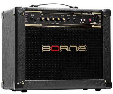 Caixa Amplificada Borne Vorax 1050 1x10'' 50W para Guitarras