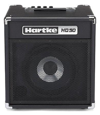 """Amplificador Hartke HD50 HyDrive 1x10"""" 50W para Contrabaixo"""