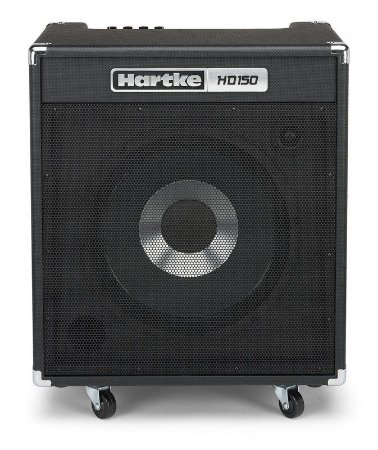"Amplificador Hartke HD150 HyDrive 1x15"" 150W  Contrabaixo"