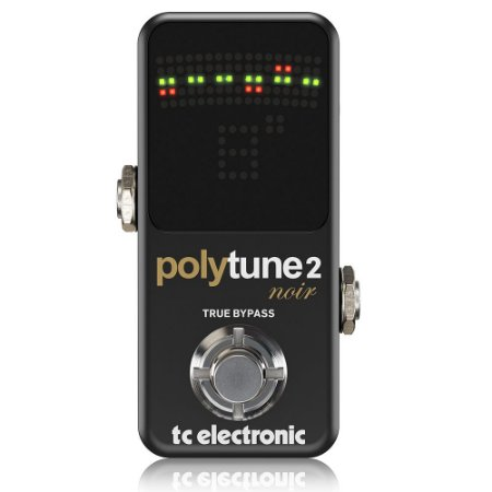Pedal Afinador TC ELectronic Polytune 2 Mini Noir