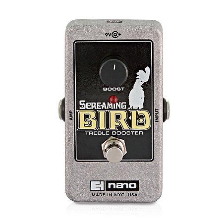 Pedal de Efeito Electro Harmonix Screaming Bird Booster