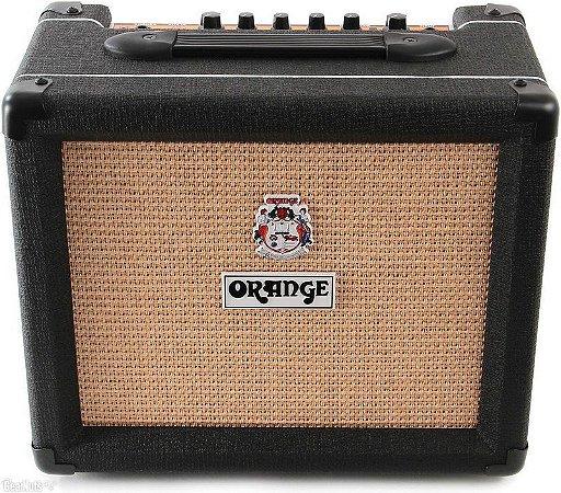 Caixa Amplificada Orange Crush 12 12W 1x6 Black  Guitarra