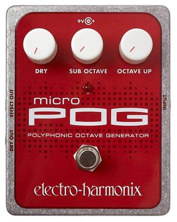 Pedal de Efeitos Electro-Harmonix MicroPog Polyphonic Octave