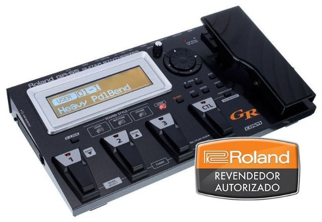 Pedaleira Roland GR-55 GK Guitar Synthesizer
