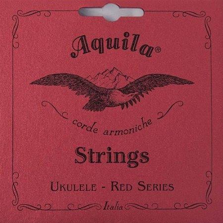 Encordoamento Aquila 86U Red Series Low G Ukulele Concert