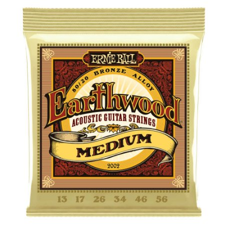 Encordoamento Ernie Ball 2002 Earthwood .013 para Violão Aço