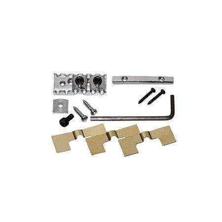 Lock Nut Gotoh FGR-2 Cromado Fixação Frontal para Cordas