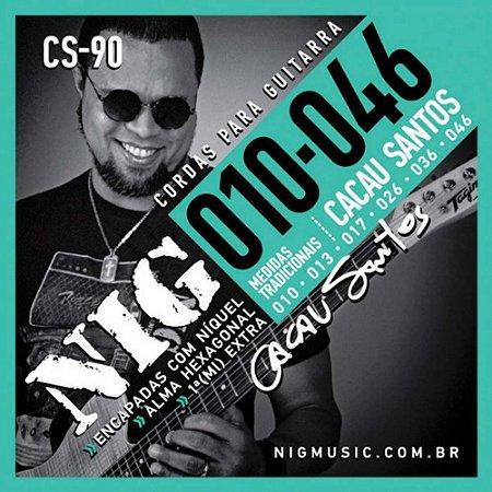 Encordoamento Nig Signature CS-90 010/046 para Guitarra